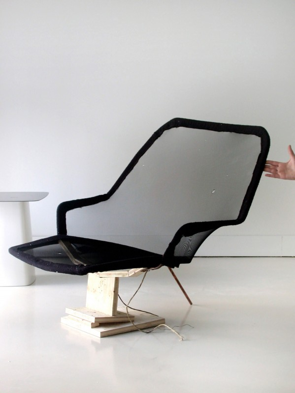 r e bouroullec detail slow chair researches. Black Bedroom Furniture Sets. Home Design Ideas