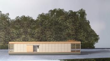 Floating house : researches & construction